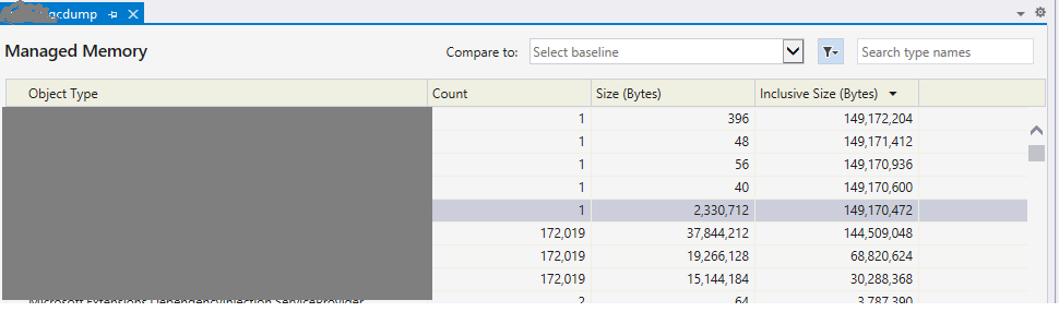 Getting memory dump from .Net core Linux container onAKS